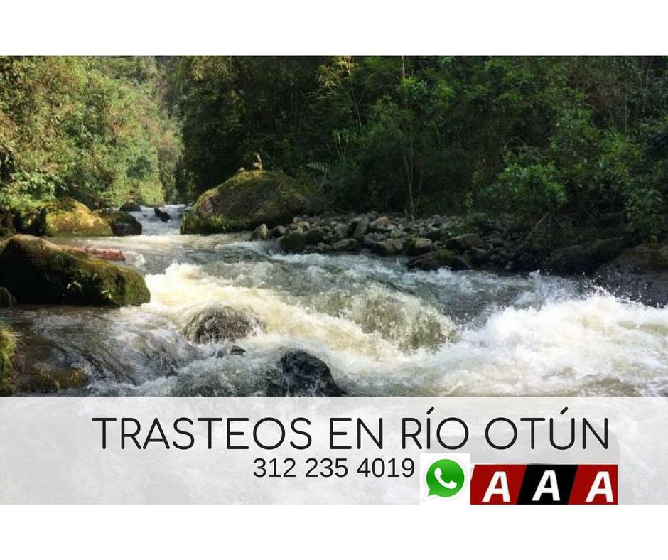 Trasteos en Río Otún