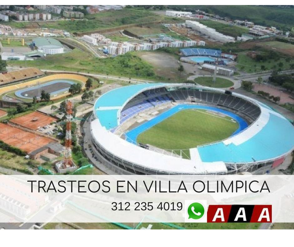 Trasteos en Villa Olimpica